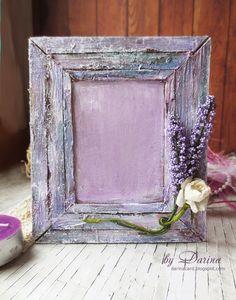 by Darina: Рамка для фото в стиле Прованс