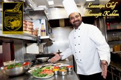 Executive Chef Sharanjit Kahlon preparing a meals at the Original Tandoori Kitchen Best Butter, Executive Chef, Butter Chicken, Indian Food Recipes, Meals, The Originals, Kitchen, Power Supply Meals, Baking Center