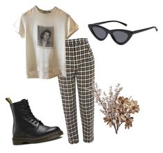 """Untitled #15"" by antisocialsarah on Polyvore featuring Topshop, Dolce&Gabbana, Dr. Martens and Wyld Home"