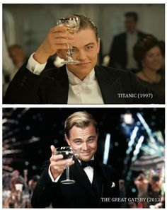 Oh Leo, time has been good to you.