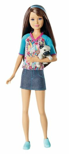 Amazon.com: Barbie Sisters Skipper Doll and Pet
