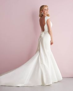 Allure Bridals : Romance Collection : Style 2717 : Available colours : White/Silver, Ivory/Silver (back)