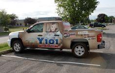 Y101 Truck Wrap
