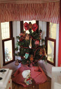 Christmas Dollhouse Decorations.36 Best My Christmas Dollhouse Images Miniature Christmas
