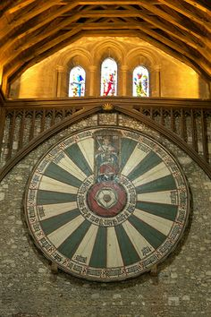 King Arthur's Round Table, Winchester Great Hall, Hampshire