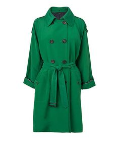 Jaeger Emerald Green Trench