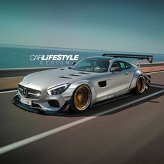 "CARLiFESTYLE on Instagram: ""Widebody AMG GT • Render by @gabe_carlifestyle  #CarLifestyle Design"""