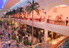 El centro comercial en San Juan, Puerto Rico