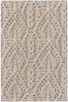 Lace Knitting Stitch #65   Lace Knitting Stitches