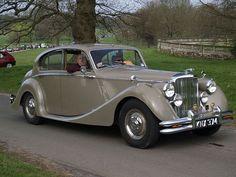 Jaguar Old Saloon Car - 1950  Like, repin, share, Thanks!