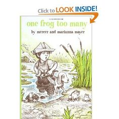 One Frog Too Many (Boy, Dog, Frog) wordless book
