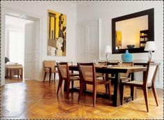 Dining-Room-Contemporary-Denver-accent-wall-baseboards-blue ...