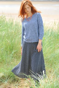 my linen skirt. LOVE it!