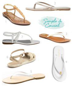 2228364cb Wedding-Worthy  Flip-flops  amp  flat sandals Bridal Flats
