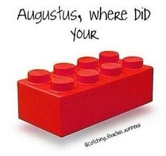 Augustus where did your lego