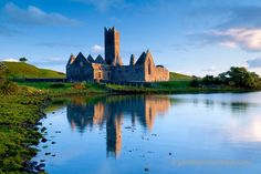 Rosserk Abbey in Co. Mayo is one of the finest and best preserved Franciscan Friaries in Ireland.