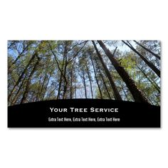 Tree Business Card. Make your own business card with this great design. All you need is to add your info to this template. Click the image to try it out!