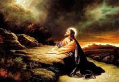 The Garden of Gethsemane Religious Cross Stitch Patterns, Secret Live, Moise, Holy Week, Google Images, Mona Lisa, Prayers, Spirituality, Artwork