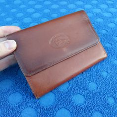 Traditional Outdoor Tan Leather Wallet #TRIAD #Bifold