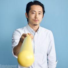 Steven Yeun #TWD #EWComicCon