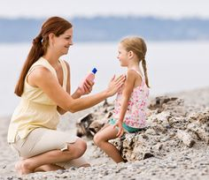 "Do you know what's in your sunscreen? ""All of these petrochemicals are toxic, and by using them, you trade UV damage for chemical damage in the long term. Parents need to know that NONE of the petrochemical sunscreen ingredients listed above are FDA approved for use on children and babies."""