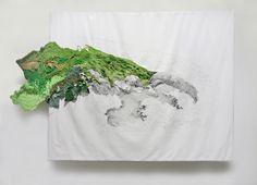 : supersonicart:  Ana Teresa Barboza's Embroidered...
