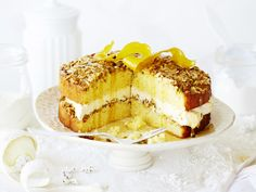 This decadent dessert channels Middle Eastern flavours to create a wonderfully sweet, sticky and nutty baklava-inspired torte. Enjoy a big slice with a cup of tea or coffee for an indulgent morning or afternoon tea.
