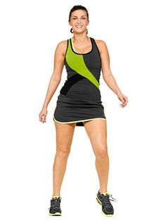 Why hide the body you've worked so hard for under baggy pants and tees? Here are great ways to look slim at the gym.