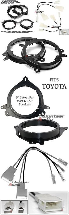 Speaker Sub Grills and Accs: Metra 82-8148 6 - 6.75 Speaker Adapter Install Parts Harness For Toyota -> BUY IT NOW ONLY: $37.8 on eBay!