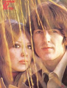 Pattie Boyd-Harrison and George Harrison