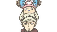 #Chopper #Tony #Trafalgar #Law #ONEPIECE #Bepo #funny #gif #mugiwara #strawhat #heart #pirate #cute
