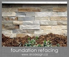 Foundation Refacing How To Cover A Cinder Block