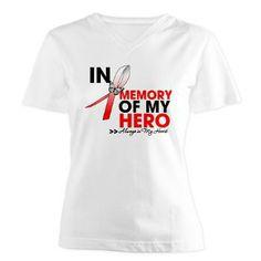 Aplastic Anemia In Memory of My Hero shirts, apparel and gifts #aplasticanemia #aplasticanemiaawareness #aplasticanemiashirts
