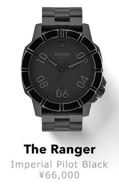newest b51e2 f8b4f Nixon x Star Wars Ranger Imperial Pilot Black Analog Watch