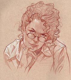 Prismacolor on toned paper. Realistic Pencil Drawings, Amazing Drawings, Beautiful Drawings, Cartoon Drawings, Art Drawings, Human Face Sketch, Human Face Drawing, Cool Sketches, Drawing Sketches