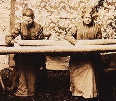 Quilters Hannah Williams Pember et Ethel Pember