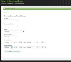 Search Reservations