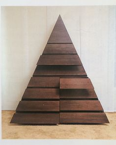 Pierre Cardin circa 1970 pyramidal dresser