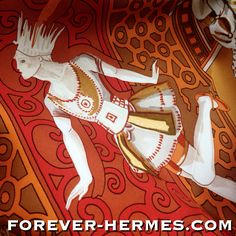 A dream for ballet lovers or Russia lovers is this Hermes scarf titled Russian Ballet, Ballets Russes by French Artist Annie Faivre for #Hermes Paris now in our store http://forever-hermes.com #ForeverHermes in red & brown & white featuring #Bolshoi #Theatre #Nutcracker #SwanLake #Bayadere and more. #HermesCarre for #HermesCollector #HermesAddict #mensfashion #womensfashion #dance #dancer #ballerina