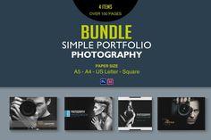 Simple Portfolio Photography Bundle by tujuhbenua on @creativemarket