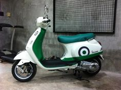 "Vespa LX150 Limited Edition ""ALLORO"""