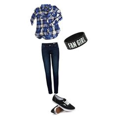 a casual day by kklewis2005 on Polyvore featuring polyvore fashion style Rails Anine Bing Vans