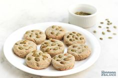 Great while on a Candida cleanse, these pumpkin seed buckwheat biscuits are a filling snack to have on hand. This is a savory recipe rich in fiber and flavor. Made with gluten-free buckwheat flour, pumpkin seed meal, as well as whole pumpkin seeds. Buckwheat is a great source of highly digestible plant-based protein.