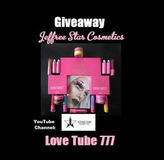 Help me win this awesome makeup giveaway at the following youtube channel: https://www.youtube.com/user/loveTube777/  Go check it out:  http://bit.ly/2lsnLQI