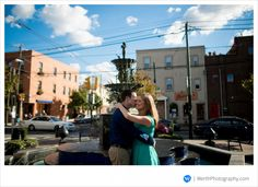 South Philadelphia Engagement (Photo by Werth Photography)