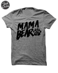 Mama Bear & Papa Bear - Tri Blend T Shirts