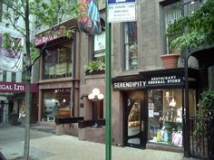 Serendipity - NYC home of the famous Frozen Hot Chocolate