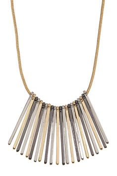 Multi Spike Pendant Necklace by Stephan & Co on @nordstrom_rack