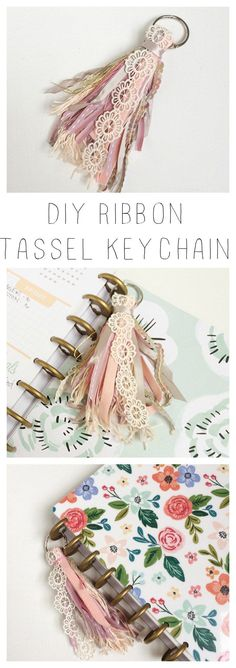Ribbon Tassel Keychain - Crafts for Teens to Make and Sell – DIY Ribbon Tasse. - Ribbon Tassel Keychain – Crafts for Teens to Make and Sell – DIY Ribbon Tassel Key Chain – C - Diy Jewelry To Sell, Sell Diy, Diy Crafts To Sell, Diy Crafts School, Make To Sell, Diy Bracelets To Sell, Easy Gifts To Make, Quick And Easy Crafts, Diy Projects To Sell