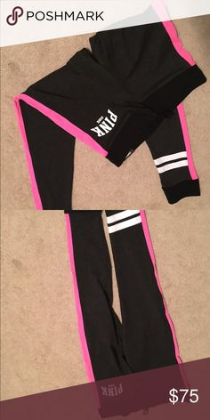 Pink campus legging yogas Brand new skinny legging style PINK Victoria's Secret Pants Leggings